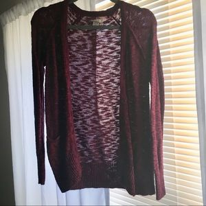 Burgundy Mudd Sweater